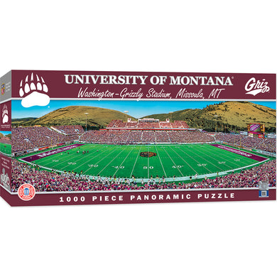 Montana Grizzlies Football Panoramic Puzzle