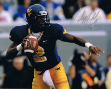 wvu football, rasheed marshall autograph