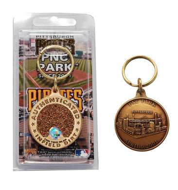 pittsburgh pirates PNC park infield dirt keychain