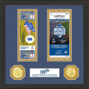 kansas city royals world series ticket collection