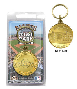 San Francisco Giants key chain
