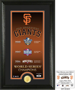 San Francisco Giants world series champions
