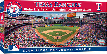 Texas Rangers Panoramic Puzzle