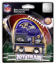 baltimore ravens toy train, ravens train