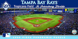 Tampa Bay Rays Panoramic Puzzle
