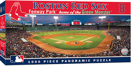 Boston Red Sox Fenway Park Boston Red Sox Panoramic Puzzle