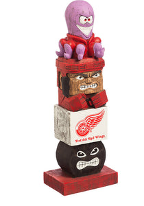 detroit red wings, red wings totem