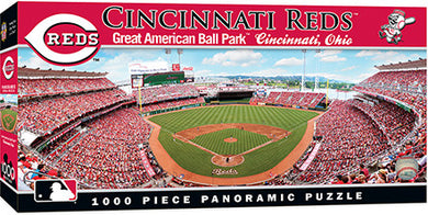 cincinnati reds great american ball park panoramic puzzle