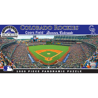 Colorado Rockies Panoramic Puzzle