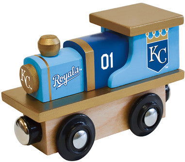 kansas city royals toy train