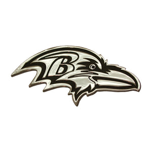 Baltimore Ravens Chrome Auto Emblem