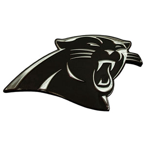 Carolina Panthers Chrome Auto Emblem