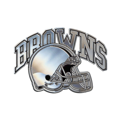 Cleveland Browns Chrome Auto Emblem