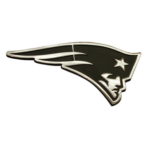 New England Patriots Chrome Auto Emblem