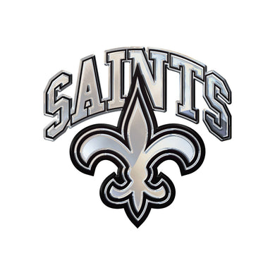 New Orleans Saints Chrome Auto Emblem