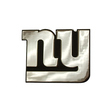 New York Giants Chrome Auto Emblem