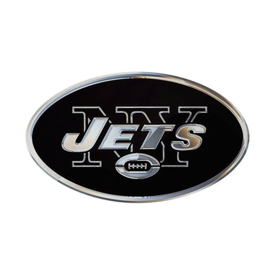 New York Jets Chrome Auto Emblem