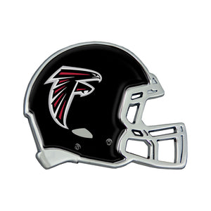 Atlanta Falcons Chrome Helmet Emblem