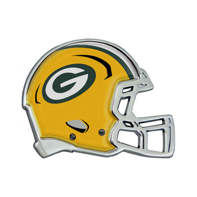 Green Bay Packers Chrome Helmet Emblem