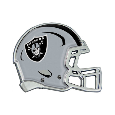 Oakland Raiders Chrome Helmet Emblem