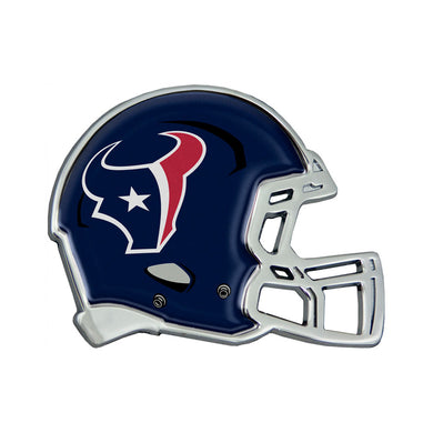 Houston Texans Chrome Helmet Emblem
