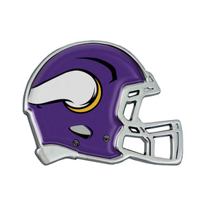 Minnesota Vikings Chrome Helmet Emblem