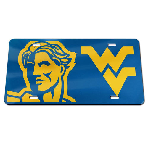 West Virginia Mountaineers Mega Logo License Plate