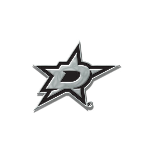 Dallas Stars Chrome Auto Emblem