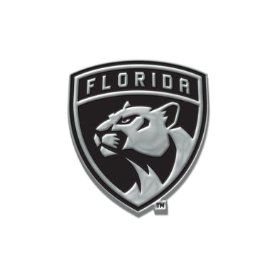 Florida Panthers Chrome Auto Emblem
