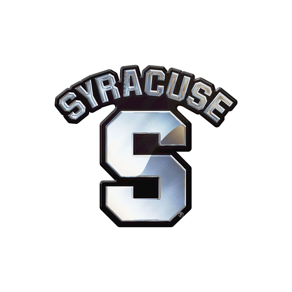Syracuse Orange Chrome Auto Emblem