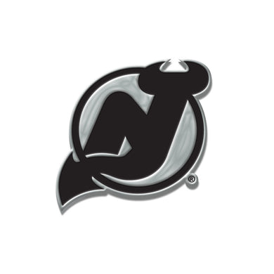 New Jersey Devils Chrome Auto Emblem
