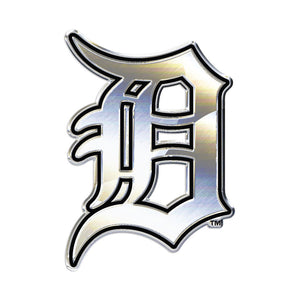 Detroit Tigers Chrome Auto Emblem