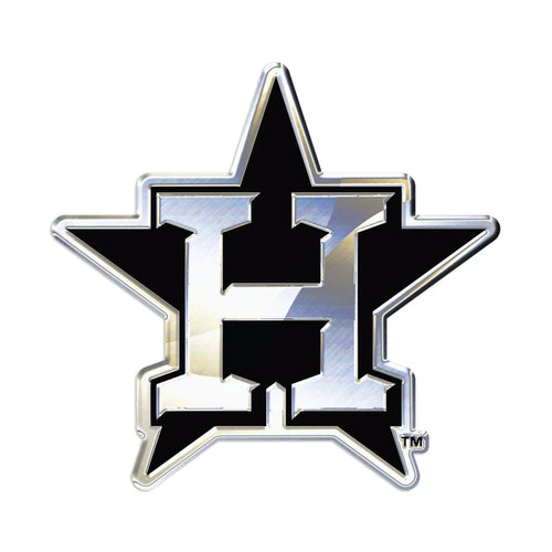Houston Astros Chrome Auto Emblem