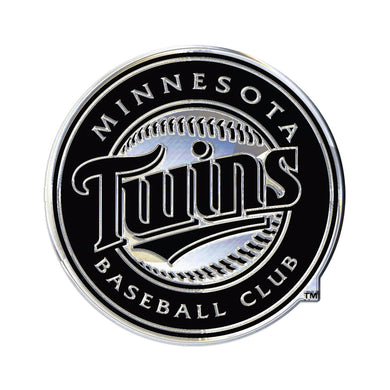 Minnesota Twins Chrome Auto Emblem
