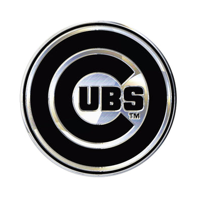 Chicago Cubs Chrome Auto Emblem