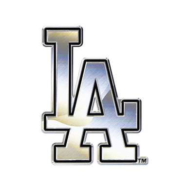 Los Angeles Dodgers Chrome Auto Emblem