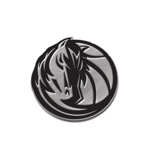 Dallas Mavericks Free Form Chrome Auto Emblem