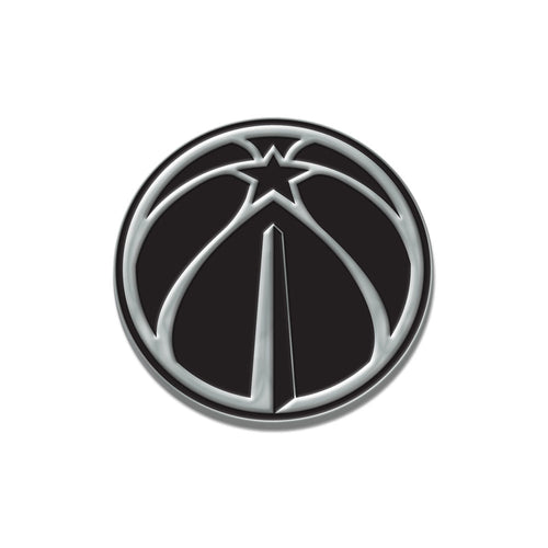 Washington Wizards Free Form Chrome Auto Emblem