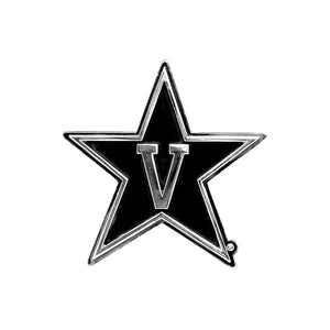 Vanderbilt Commodores Chrome Auto Emblem