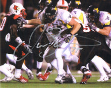 wvu football, owen schmitt autograph