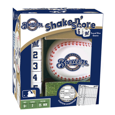 Milwaukee Brewers Shake 'n Score Game