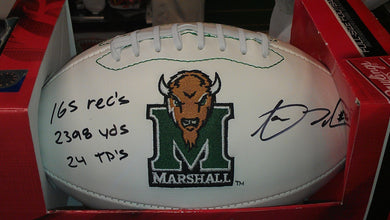 aaron dobson marshall signed football, aaron dobson marshall autographed football