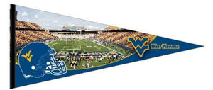 wvu football, wvu basketball, wvu pennant