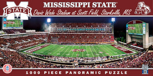Mississippi State Bulldogs Football Panoramic Puzzle