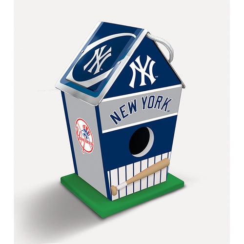 New York Yankees Birdhouse