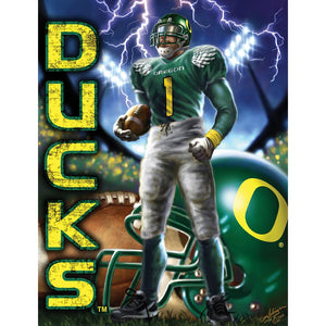 Oregon Duck Football Puzzle