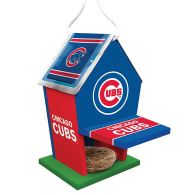 Chicago Cubs Birdhouse