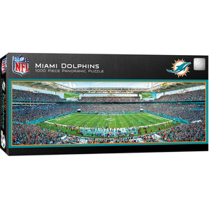 Miami Dolphins Panoramic Puzzle