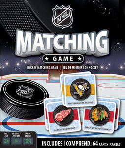 NHL Hockey Matching Game