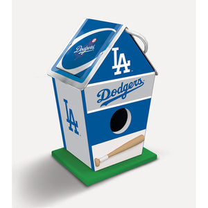 Los Angeles Dodgers Birdhouse